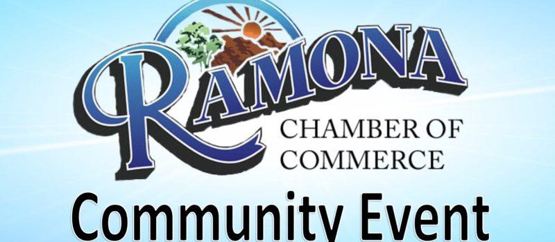 Ramona Chamber Community Event