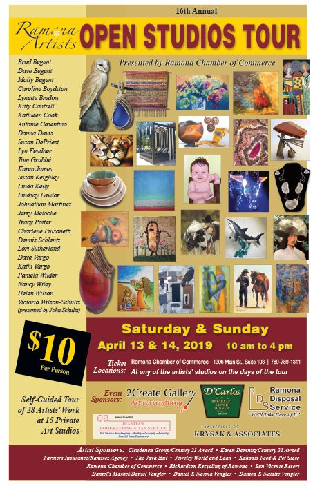 Ramona Artists Open Studios Tour