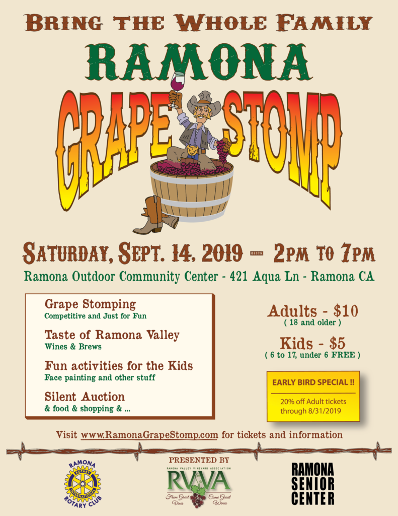 Ramona Grape Stomp 2019