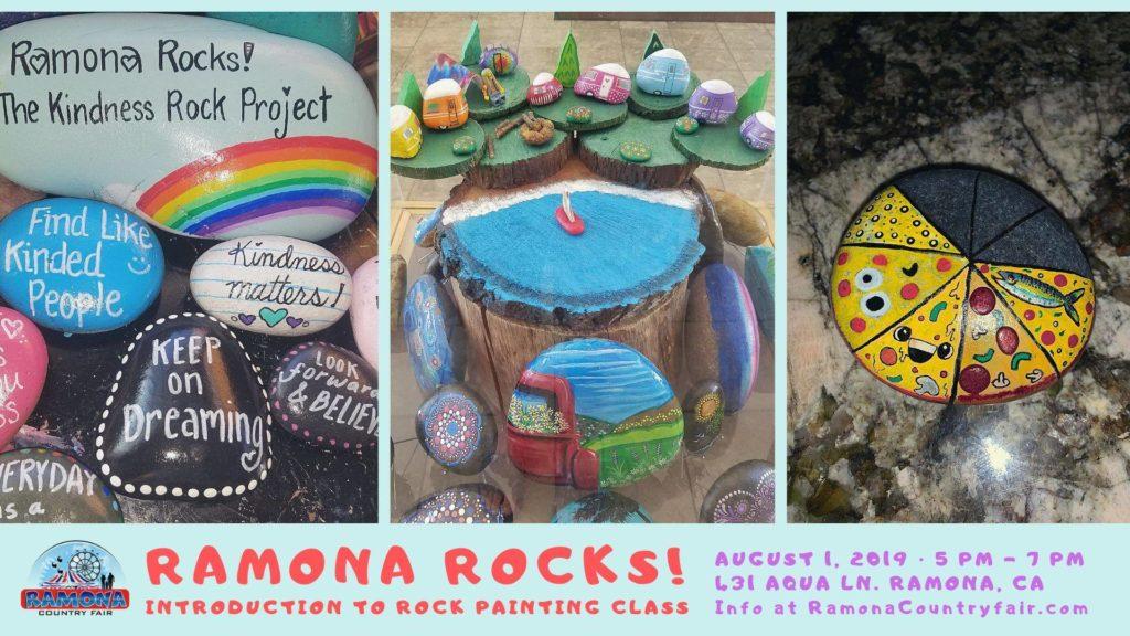Ramona Rocks with Danni Pearson at Ramona Country Fair