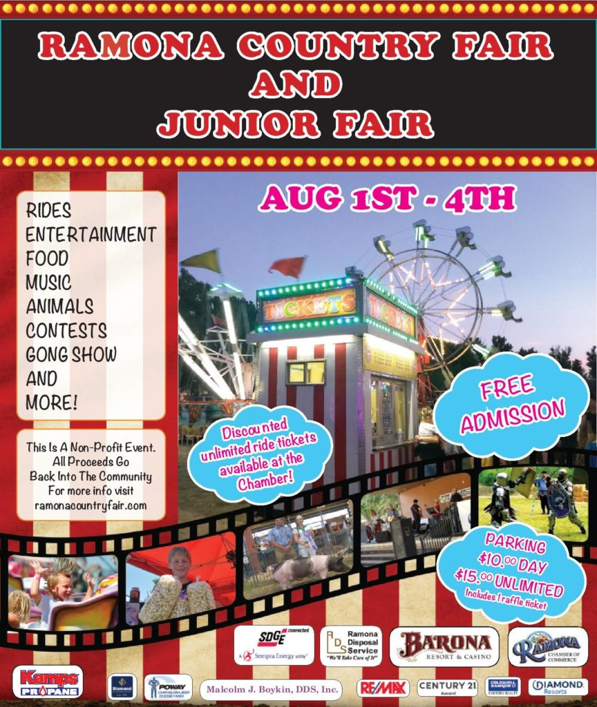 Ramona Country Fair final flyer