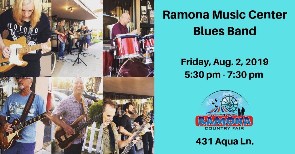 Jon Hasz and Ramona Music Center Blues Band at Ramona Country Fair