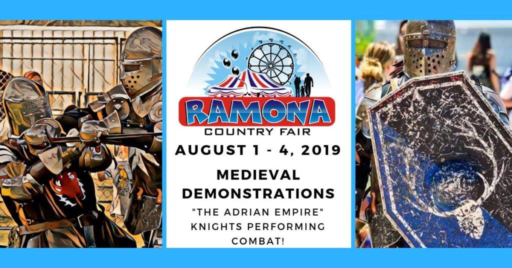 Adrian Empire Combat at Ramona Country Fair