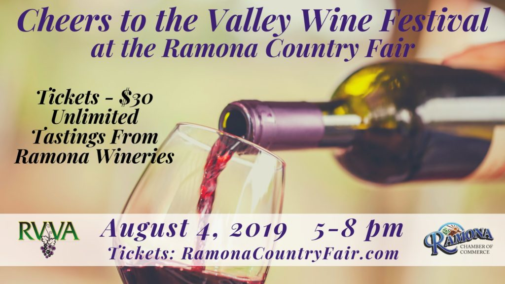 Cheers to the Valley Wine Festival Ramona Country Fair 2019