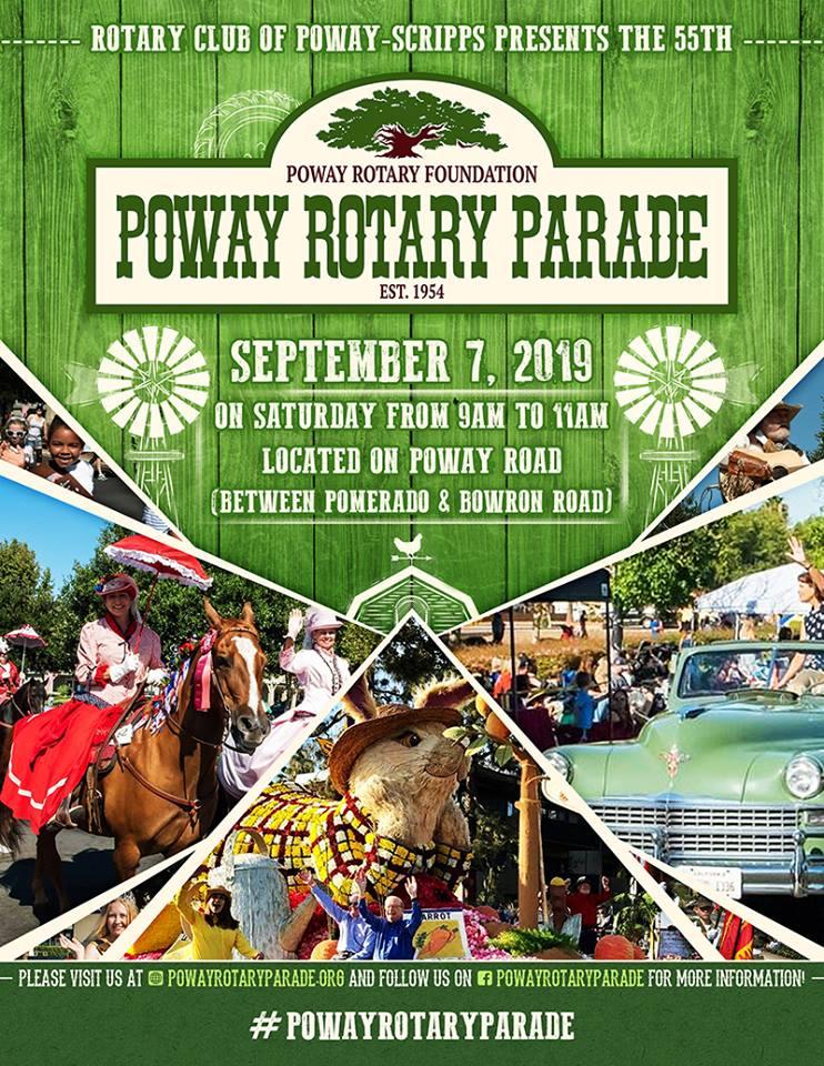 Poway Rotary Parade