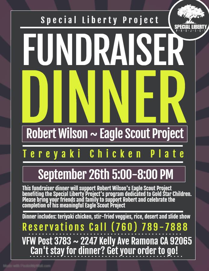 VFW Fundraiser for Special Liberty Project
