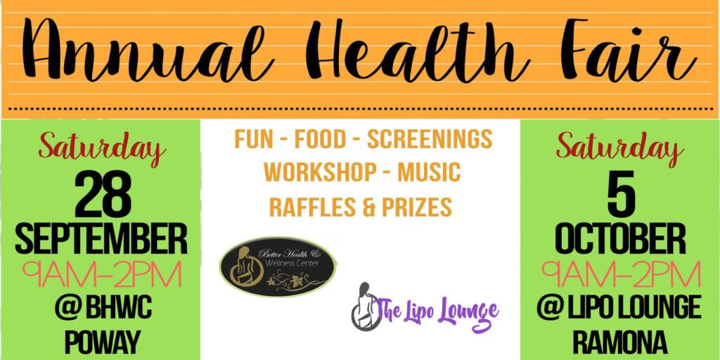 Lipo Lounge Annual Health Fair