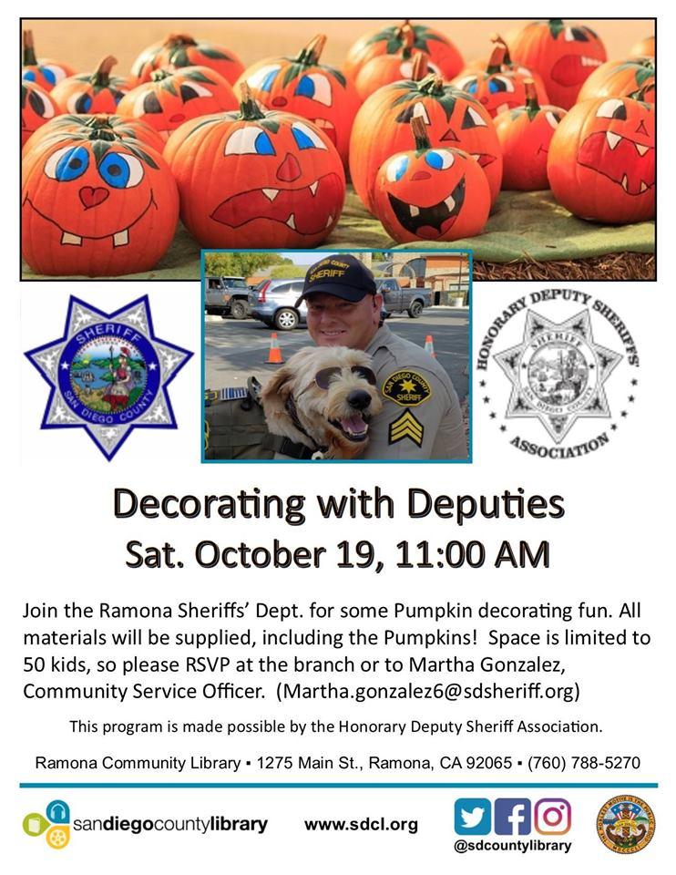 Decorating with Deputies
