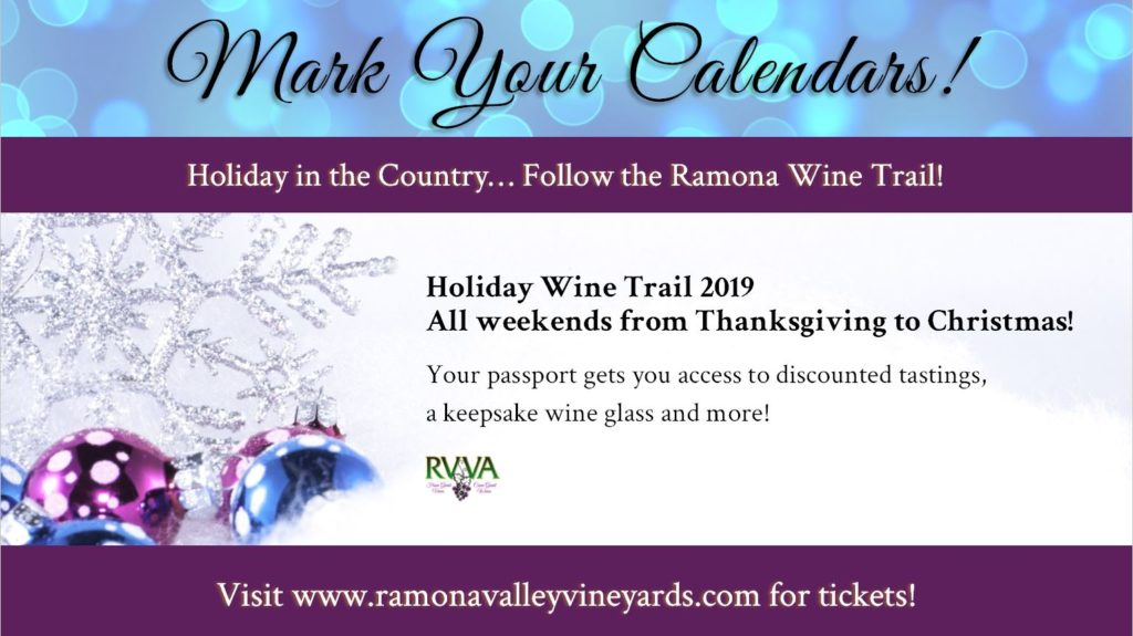 Ramona Holiday Wine Trail