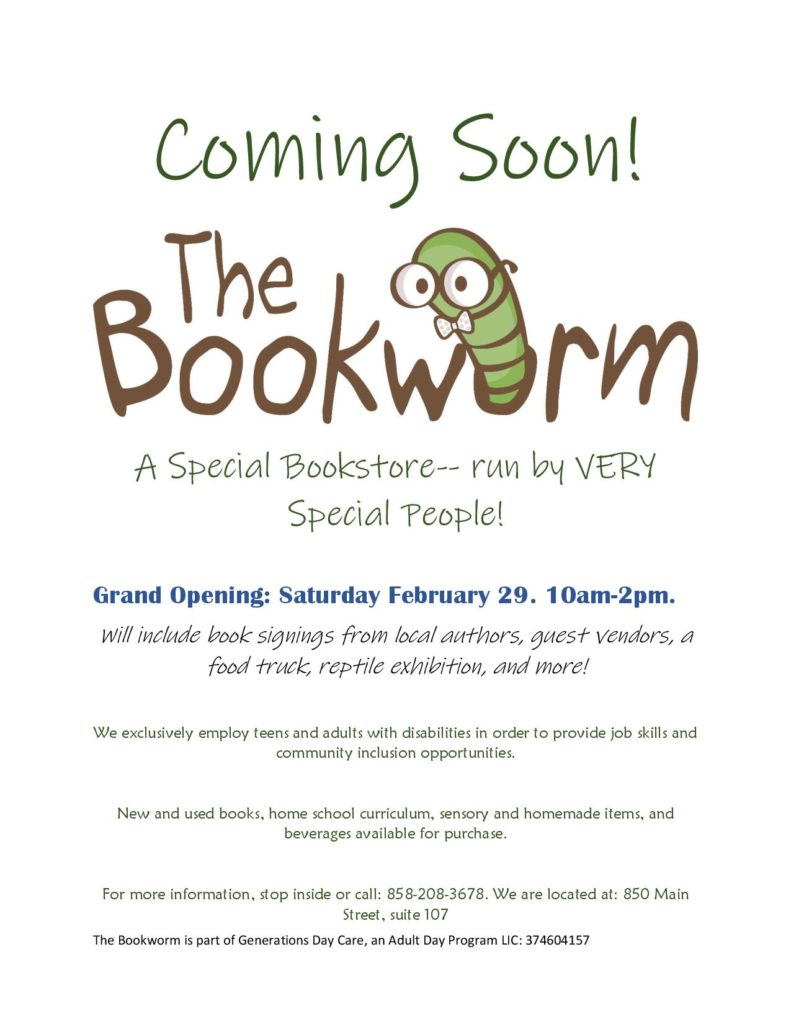 Bookworm Flyer