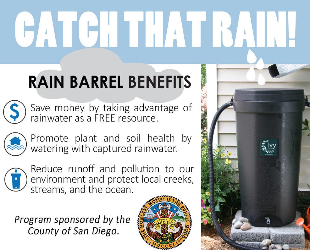 Solana Center San Diego County Rain Barrel Event