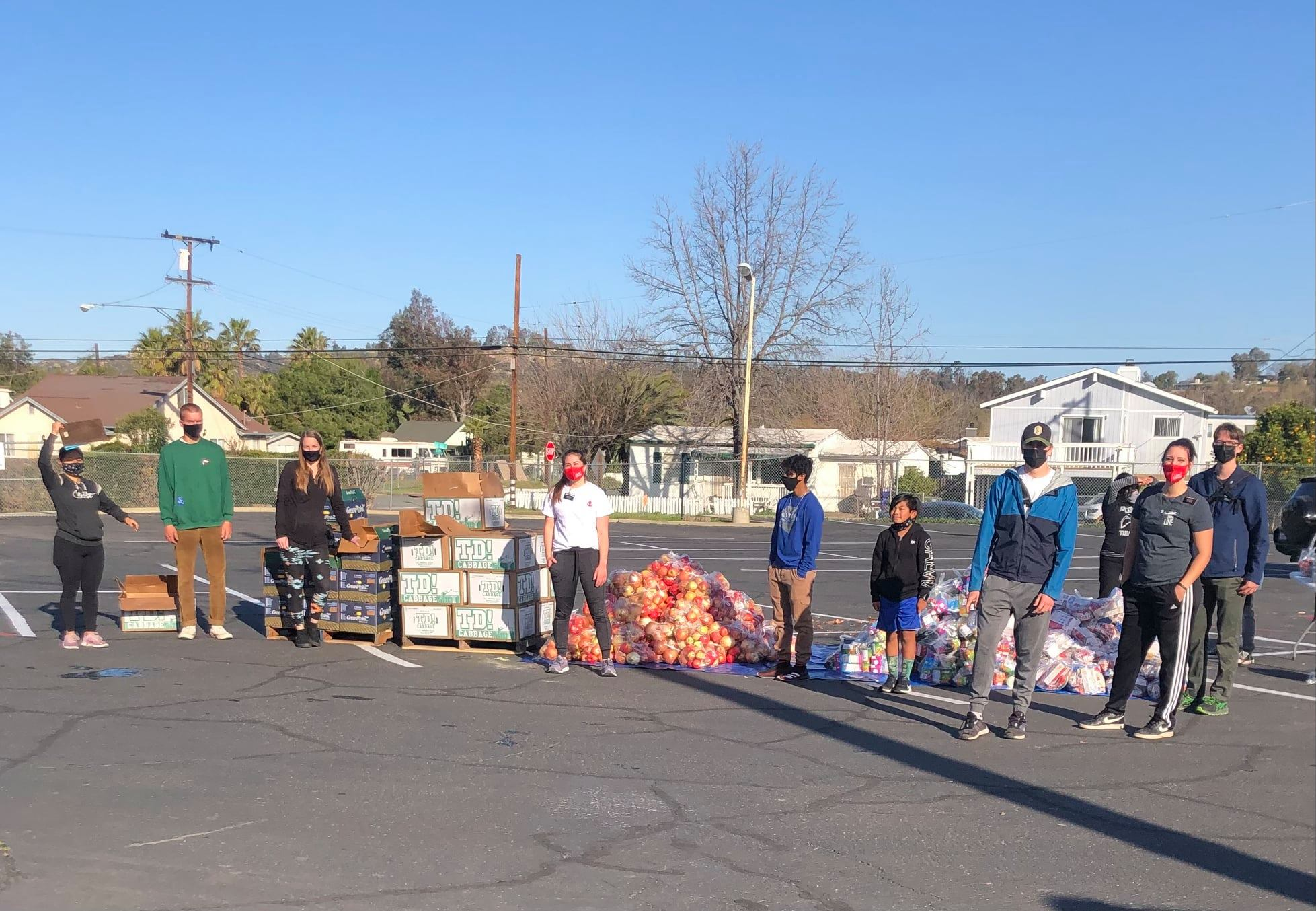 Ramona Food and Clothes Closet Mobile Pantry