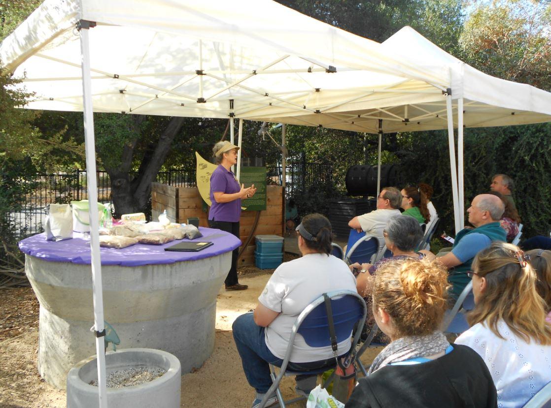 Solana Center compost seminar