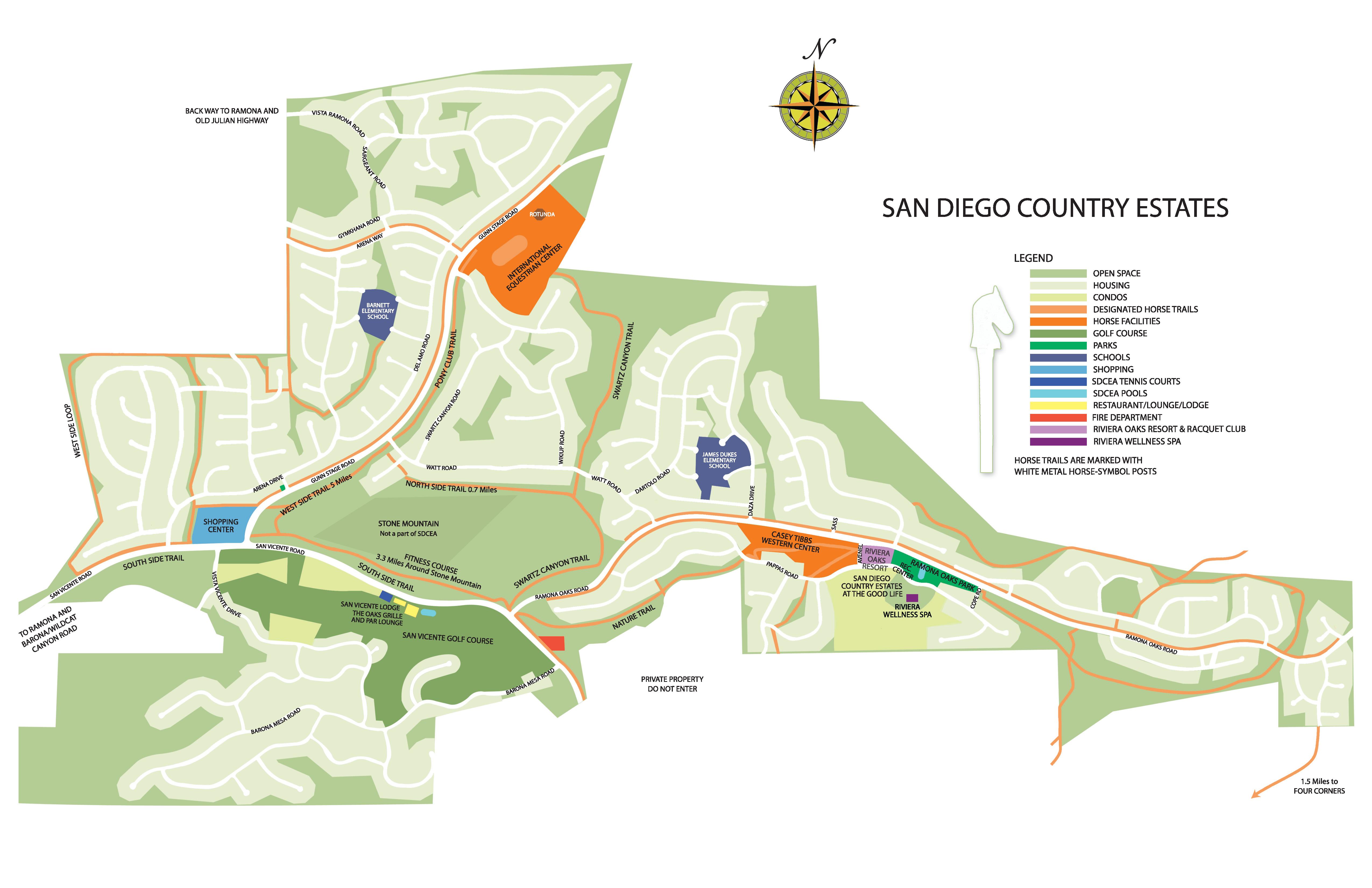 SDCEA Trail System